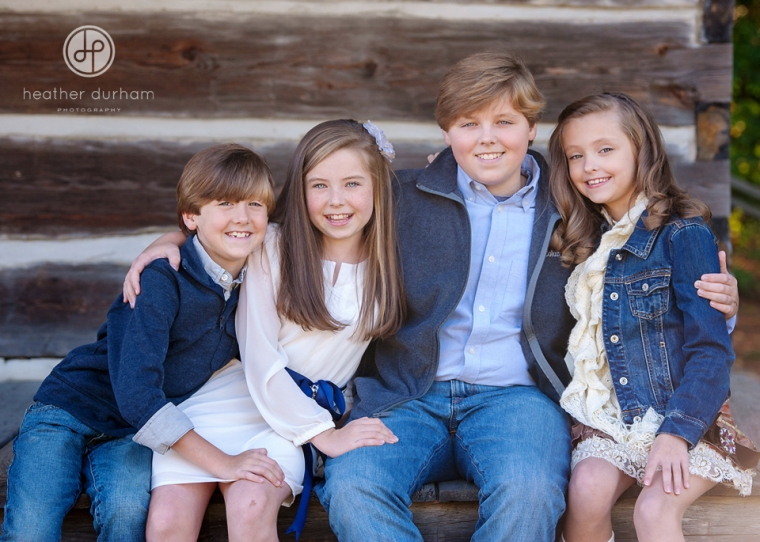 Heather Durham Photography fall kids and family portraits