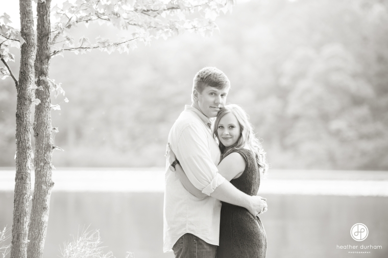 Engagement Session, Oak Mountain State Park, Birmingham Alabama