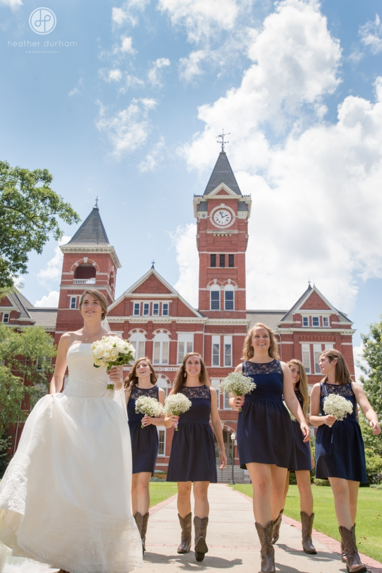Mary Kathryn & Andrew's Auburn University Wedding, Auburn, Alabama