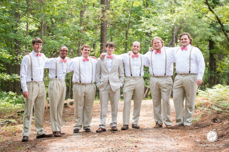 Mary Joyce & Britt's Lake Martin Wedding at Children's Harbor