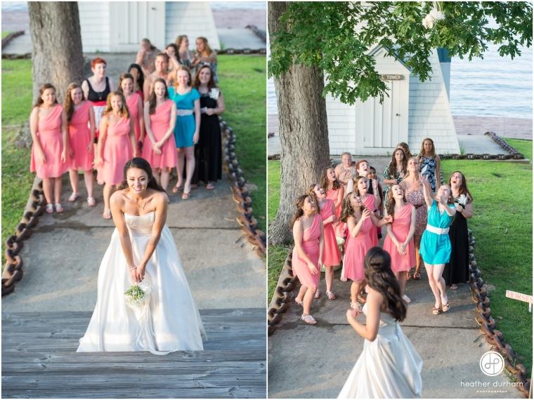 Mary Joyce & Britt's Lake Martin Children's Harbor Wedding
