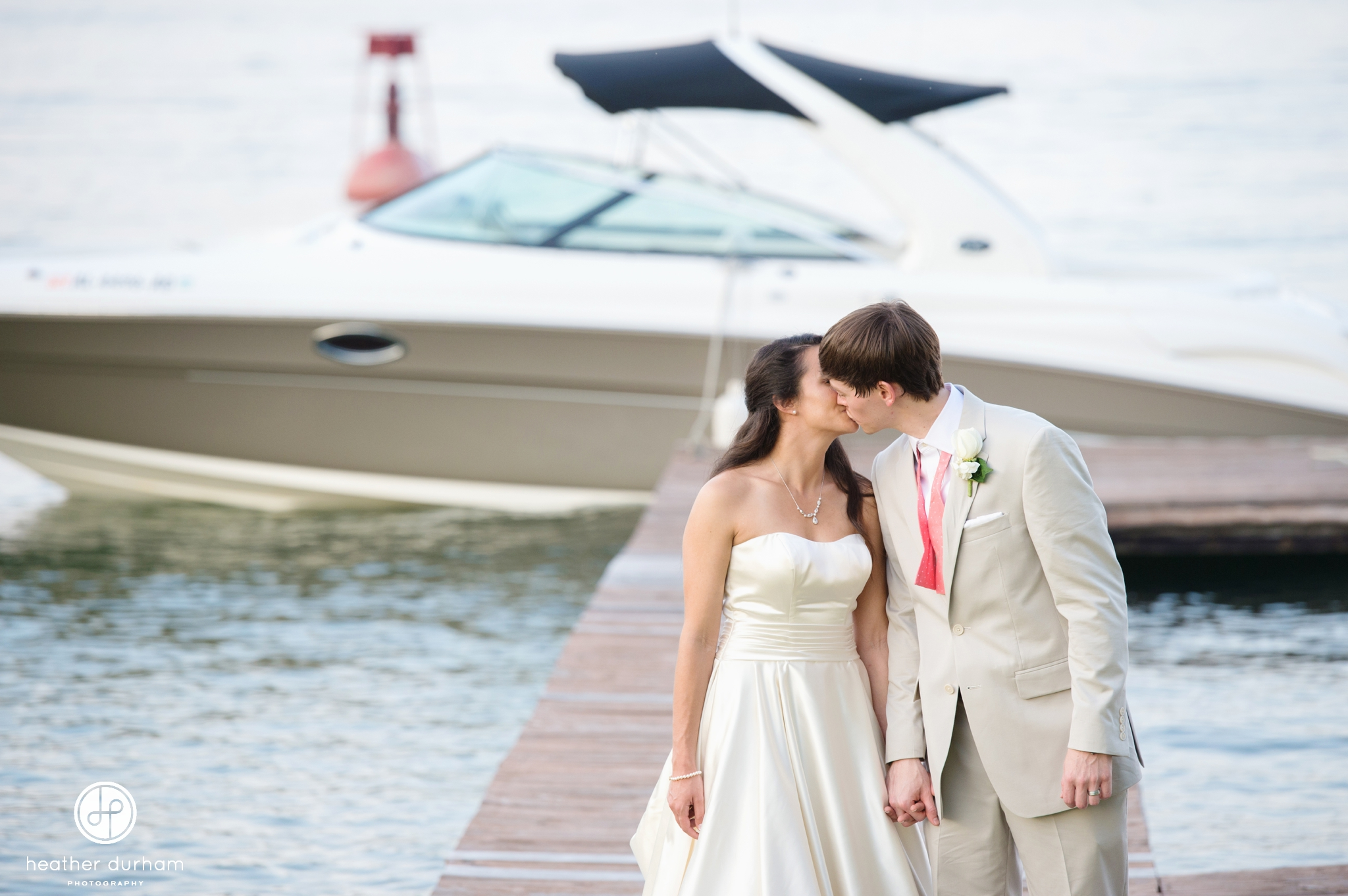 Mary Joyce & Britt's Lake Martin Children's Harbor Wedding