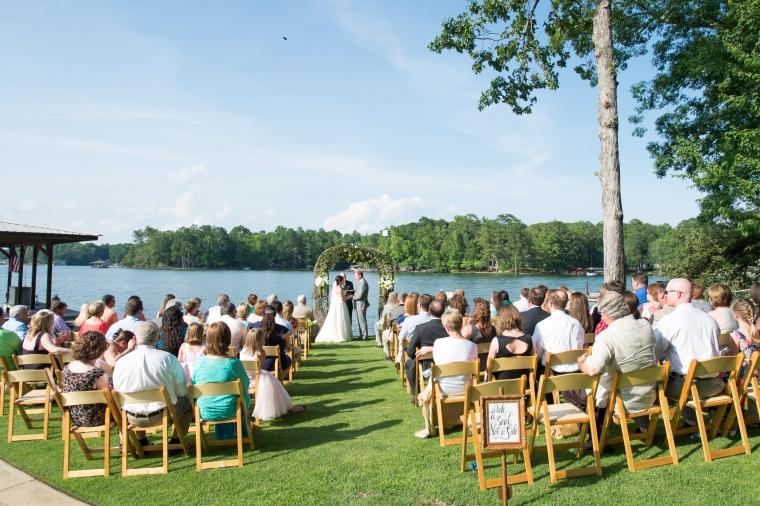 Anna & Josh's Lake Martin Wedding, Lake Martin Alabama