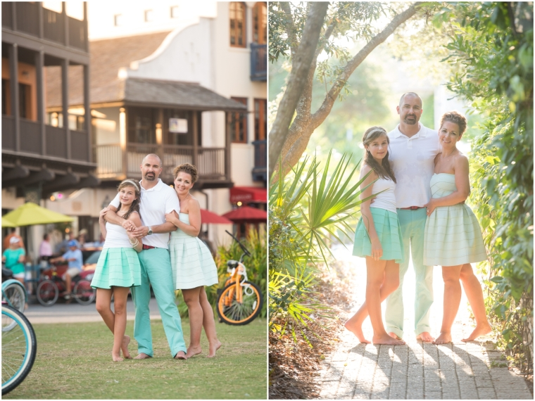 Stodghill Family Session in Rosemary Beach Florida