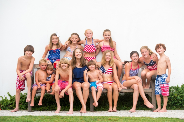 Stars & Stripes Photo Shoot at Rosemary Beach Florida
