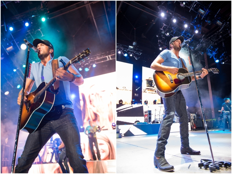 Luke Bryan Concert, Oak Mountain Amphitheatre, That's My Kind of Night Tour 2014, Luke Bryan Concert Tour