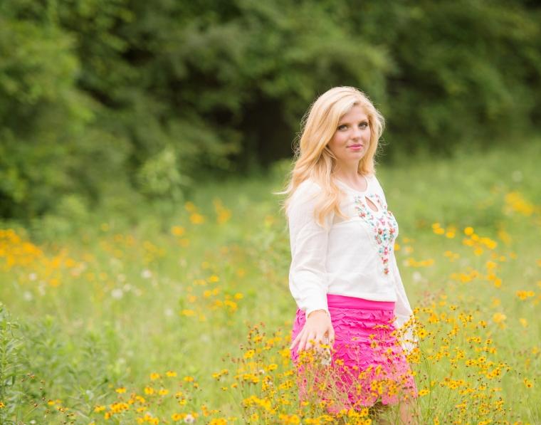 Anna's senior session, high school senior photography