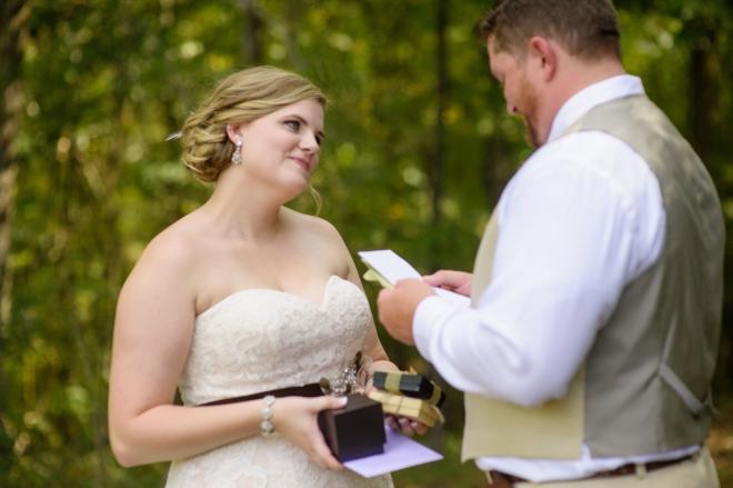 Leah & Daniels Fall Outdoor Wedding at Walter's Farm, Pell City Alabama