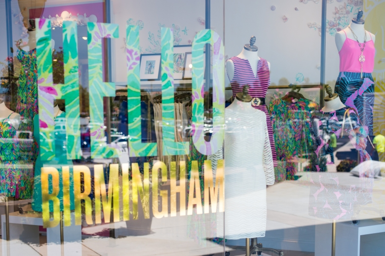 Lilly Pulitzer Store Grand Opening, The Summit Birmingham Alabama