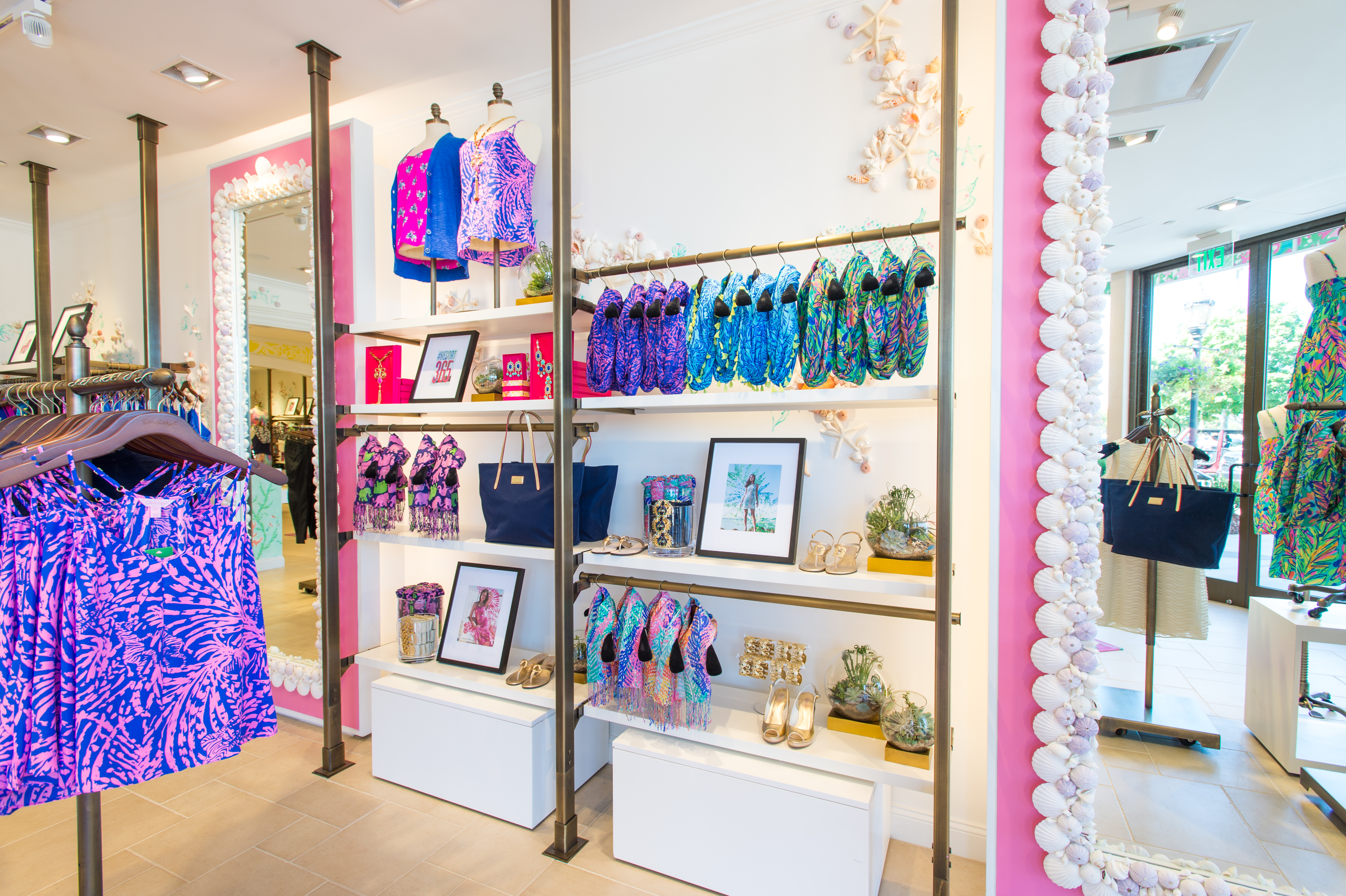 Lilly Pulitzer Store Opens At The Summit