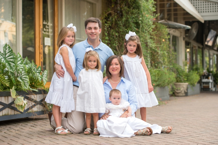 The Little Family Portraits, Downtown Northport Tuscaloosa