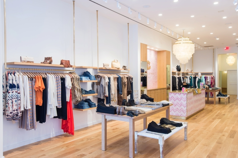Calypso St Barths Store at The Summit, Birmingham Alabama Photographed by Heather Durham Photography