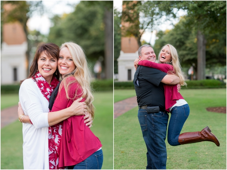 Allison's college senior session, University of Alabama campus