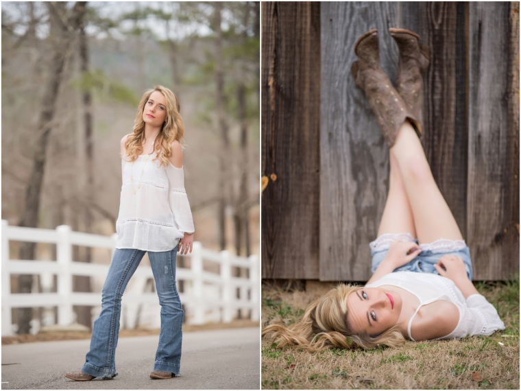 Lorin, High School Senior Photography in a field