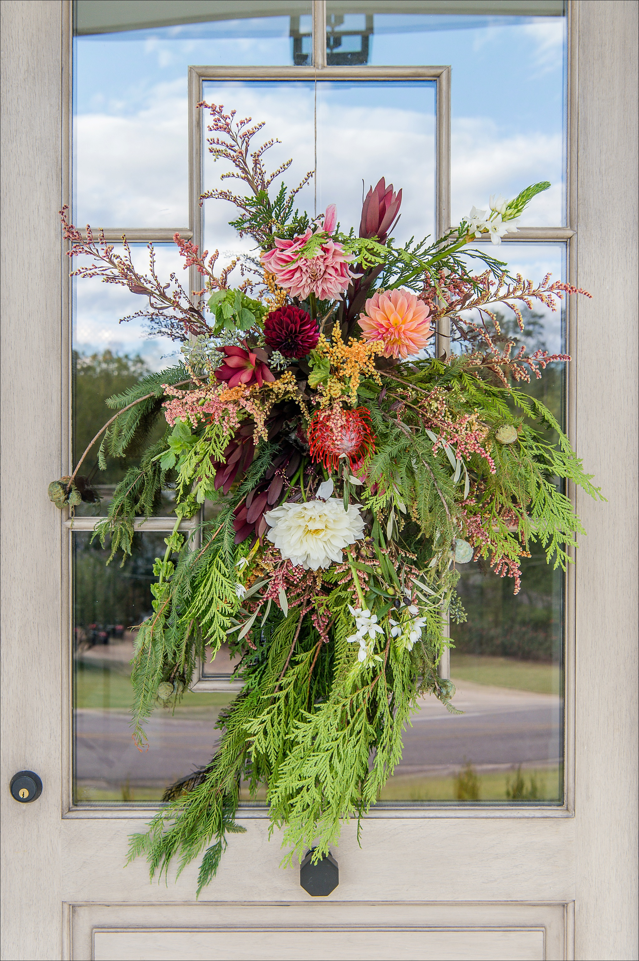 Mountain Brook Home Holiday Decorating, Birmingham Magazine, Heather Durham Photography