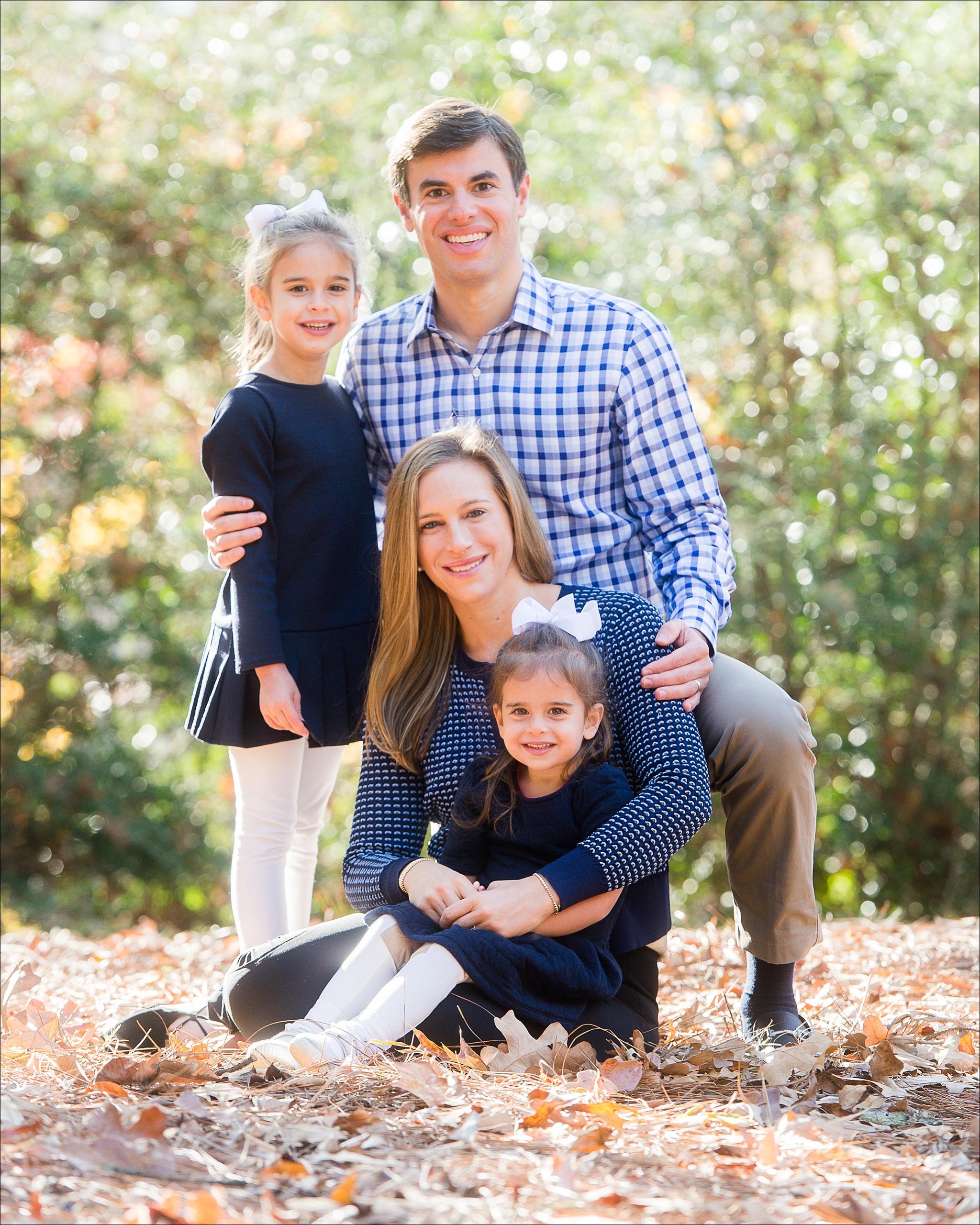 Mountain Brook Alabama Family Portrait Session