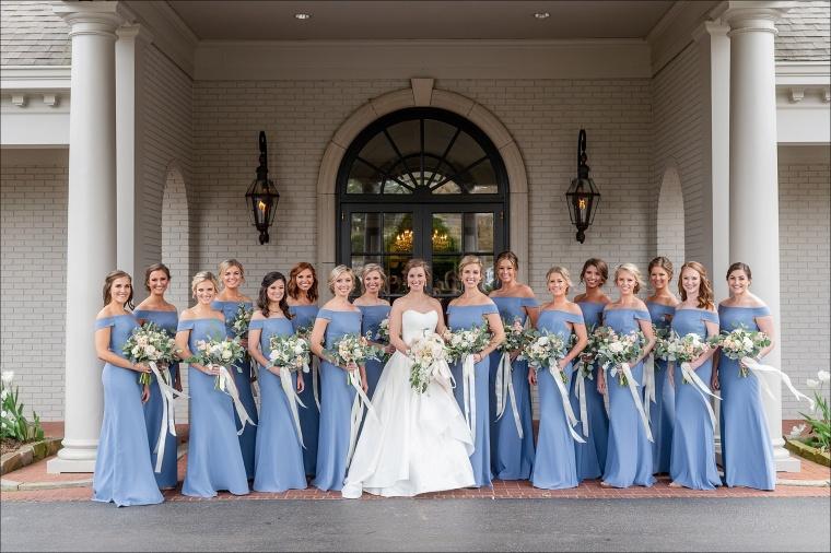 Callie & Gil's Vestavia Country Club Wedding, Birmingham AL by Heather Durham Photography