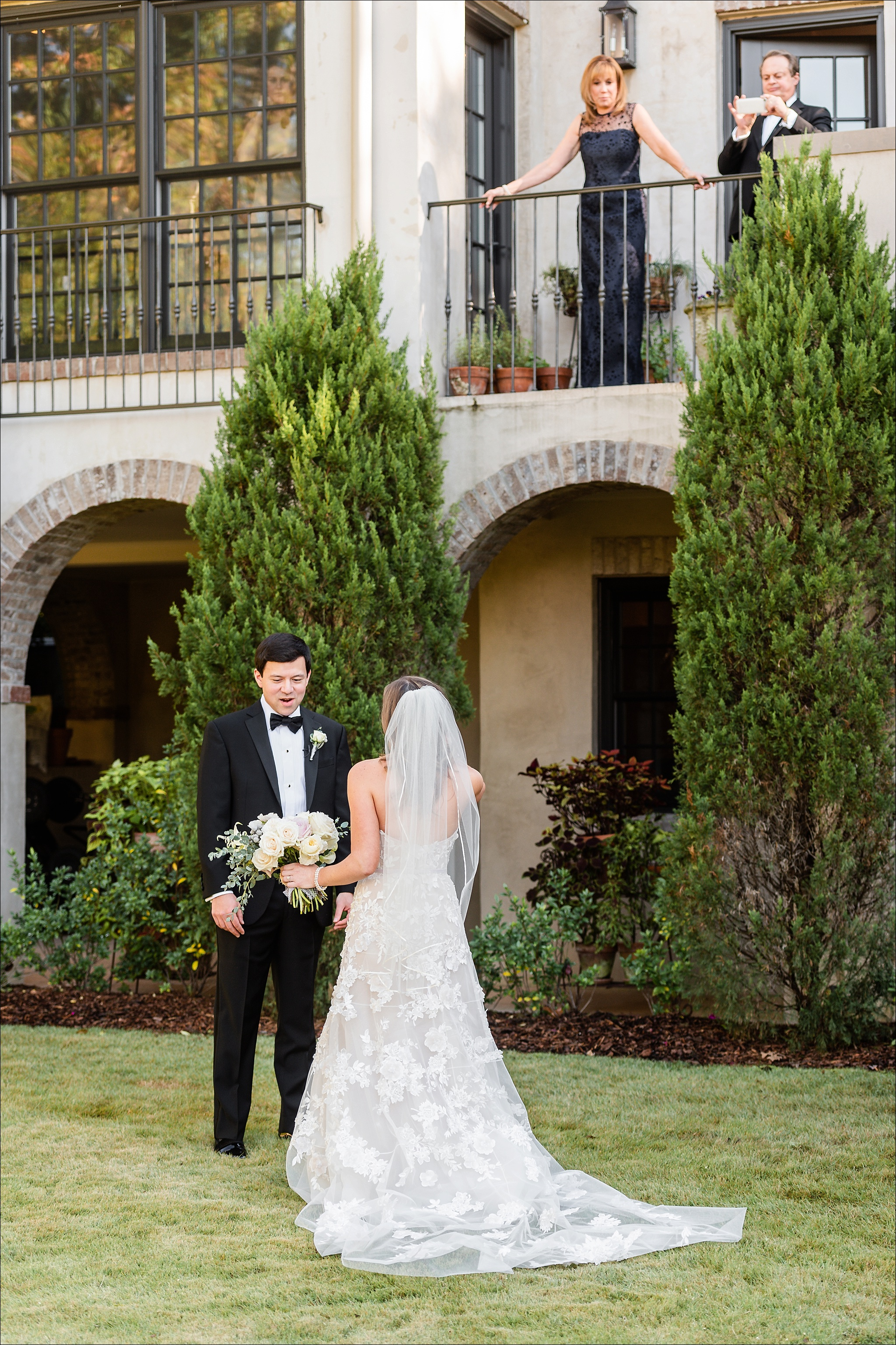 Emily Rousso and Seth Capper Wedding at Temple Emanu-El and Grand Bohemian Hotel Mountain Brook by Heather Durham Photography